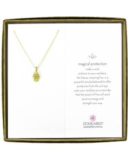 Magical Protection Open Hamsa Reminder Necklace