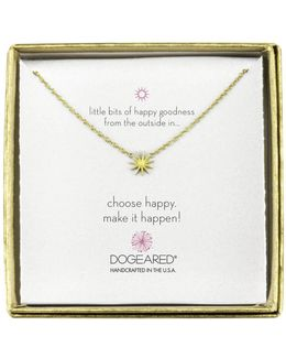 Mini Starburst Little Bits Of Happy Boxed Reminder Necklace