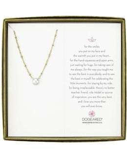 Pearls Of Love Beaded Chain With Pearl Boxed
