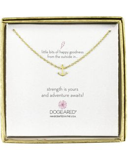 Mini Anchor Little Bits Of Happy Boxed Reminder Necklace