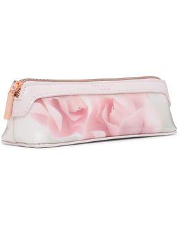 Kelssa Porcelain Rose Pencil Case
