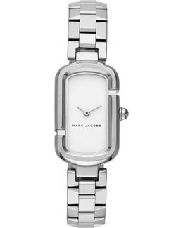 The Jacobs Silver Stainless Steel Watch