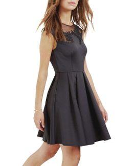 Dollii Emb Cut Out Dress