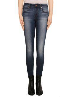 Sarah Mid Rise Skinny Jean