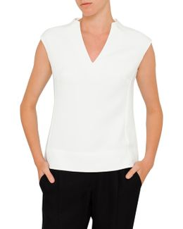 Paysy High V Neck Top