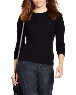 Julianna Long Sleeve Wool And Cashmere Sweater