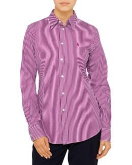 Harper Long Sleeve Stripe Shirt