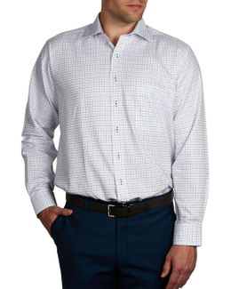 Jean Georges Check Slim Fit Shirt