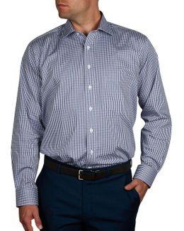 Del Posto Check Regular Fit Shirt