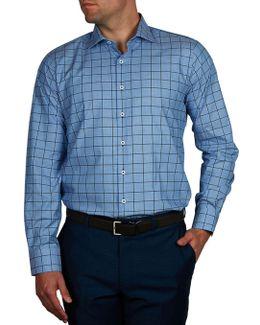 Le Bernadin Check Slim Fit Shirt
