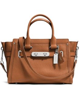 Swagger 27 Carryall In Pebble Leather