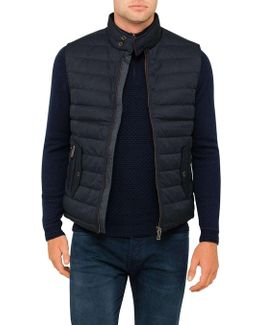 Quilted Down Filled Gillet