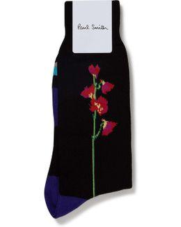 Mainline Floral Sock