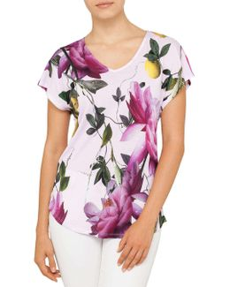 Synthia Citrus Bloom Tee