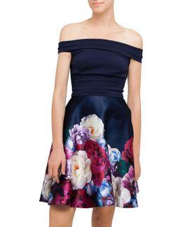 Nersi Floral Print Dress