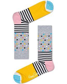 Stripes Dot Sock
