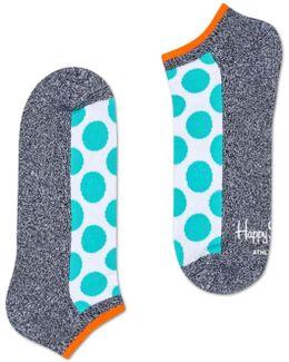 Athletic Big Dot Low Sock