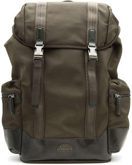 Land Rover' Nylon Backpack