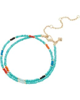 Seed Bead Choker Necklace