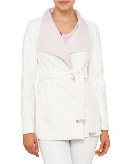 Elika Short Wrap Coat