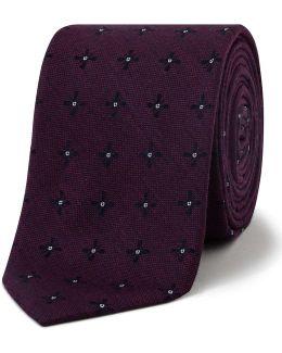 Simple Floral Tie