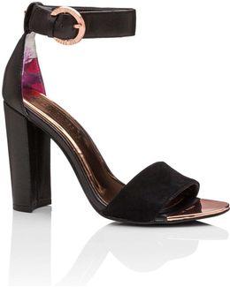 Two Strap Sandal Heel