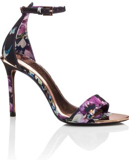 Printed Ankle Strap Sandal