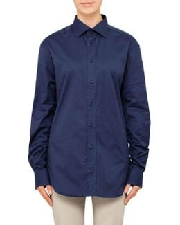 French Boned Collar Classic Shirt