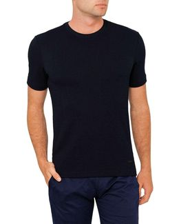 Slim Fit Woven T-shirt
