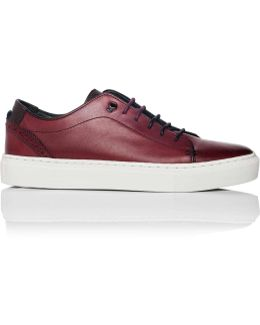 Brushed Leather Sneaker