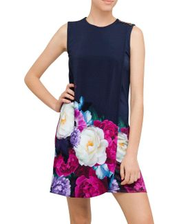 Mairei Blushing Bouquet Layer Dress