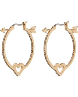 Hearts And Arrow Hoops