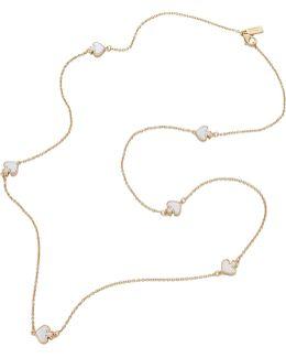 Spade Scatter Necklace