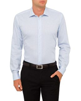 Twill Check Slim Fit Shirt