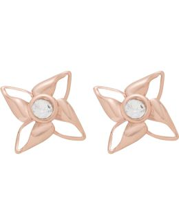 Kenna: Enamel Breeze Stud Earring