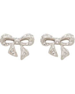 Pepe: Pepe Pave Crystal Bow Earring