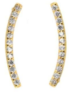 Azure Cuff Earrings - Gold