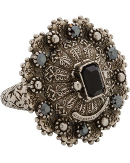 Brass Jewelled Ring