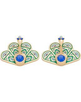 Peacock Studs