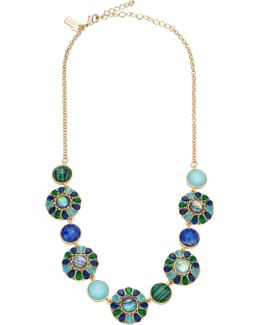 Peacock Short Necklace