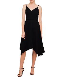 Simbah Scallop Asymm Dress
