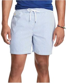 5¿-inch Seersucker Swim Trunk