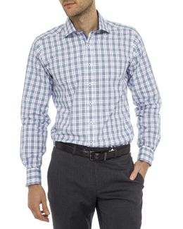 Great Grid Check Slim Fit Shirt