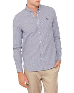 Three-colour Basketweave Shirt