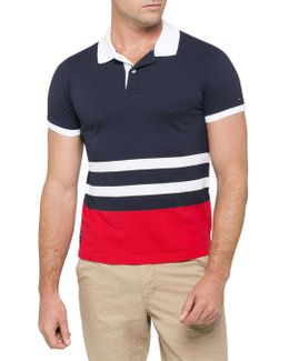 Keiran English Stripe Polo