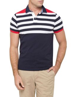 Niels English Stripe Polo
