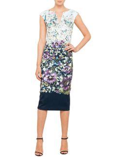 Tiha Entangled Enchantment Body Con Dress