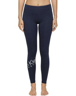 Wrap Around Logo Crop Legging