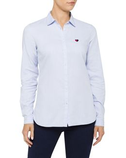 Aurora Oxford Shirt Ls W2