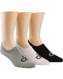 3 Pk Logo Liner Sock